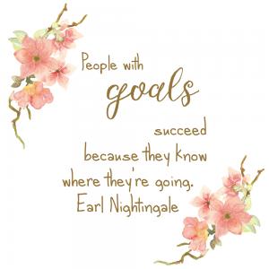 goals inspirational graphics