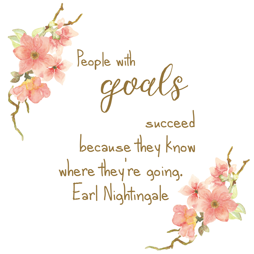 goals inspirational graphics