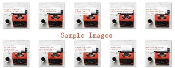 marketing through storytelling images