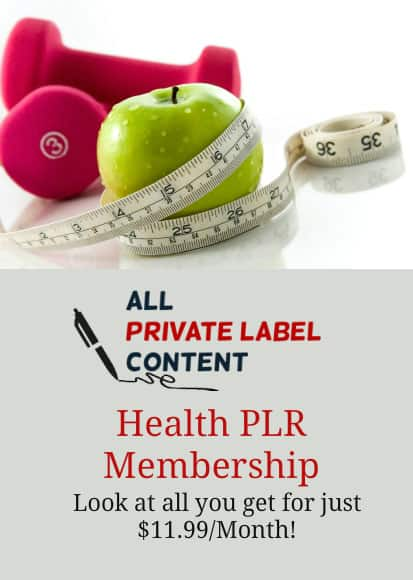 Health PLR Membership