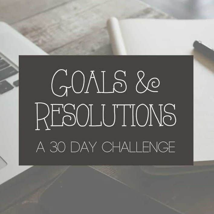 goals resolutions challenge
