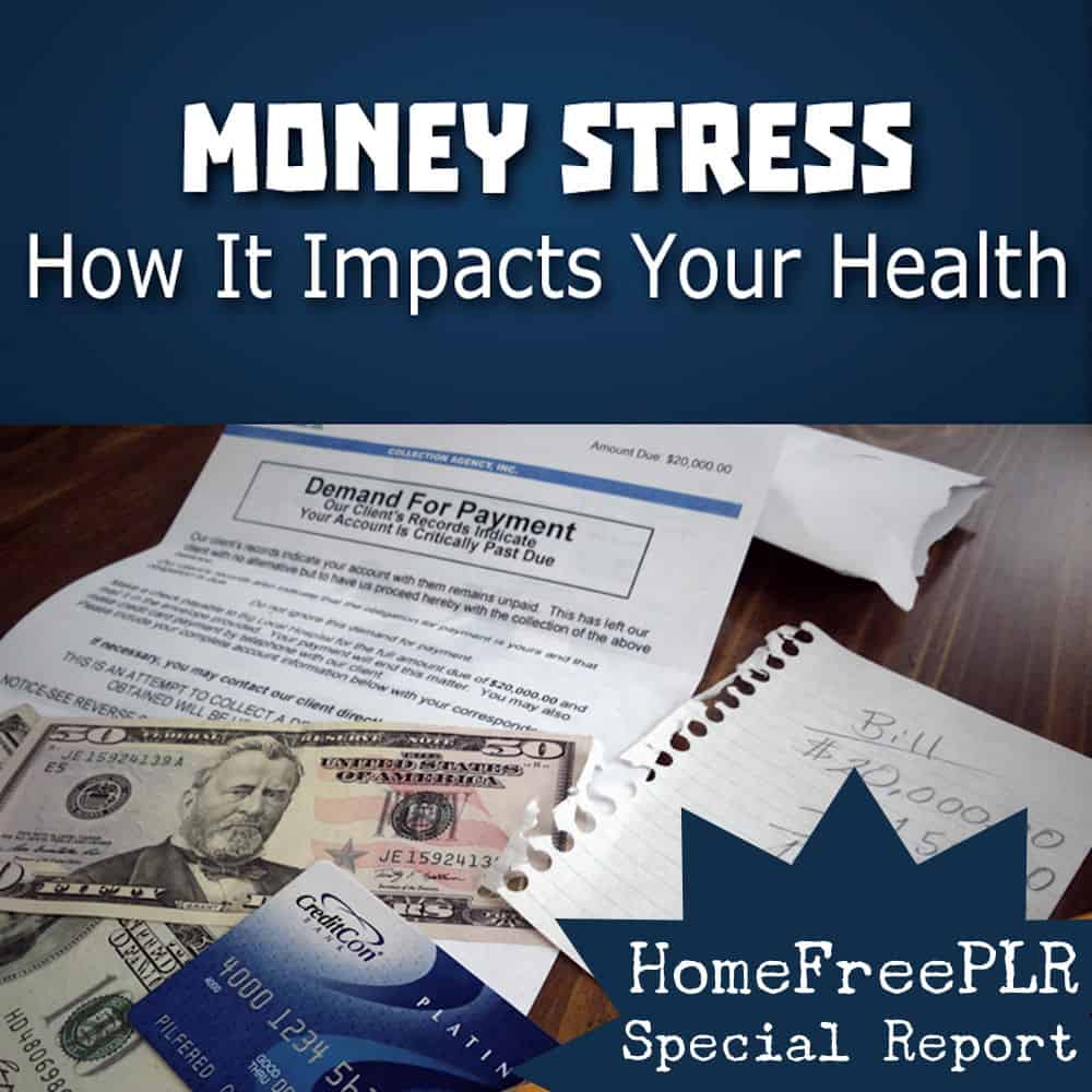 money stress plr