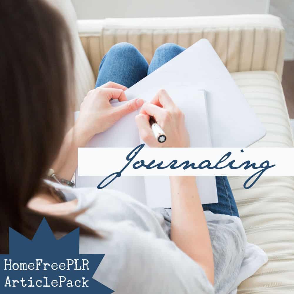 PLR Journaling