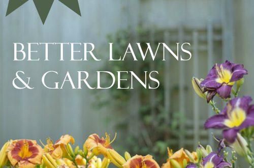 lawns gardens plr