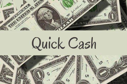 quick cash plr