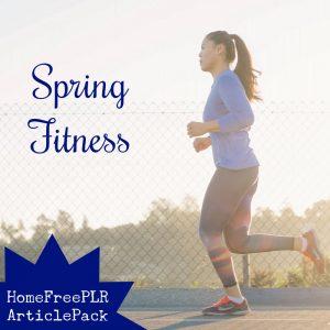 spring fitness plr