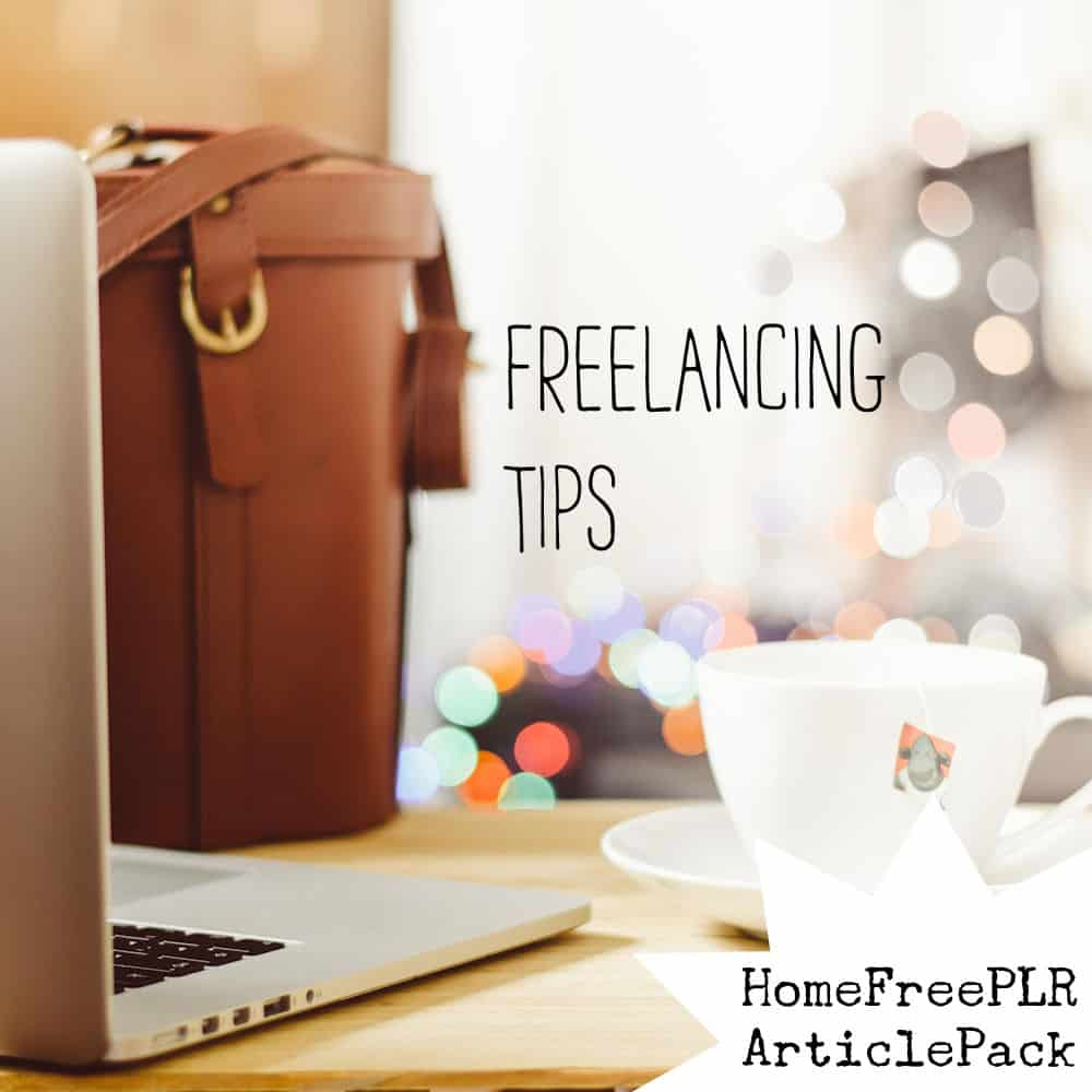 freelancing tips PLR