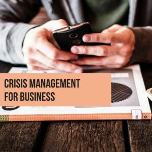 crisis management plr