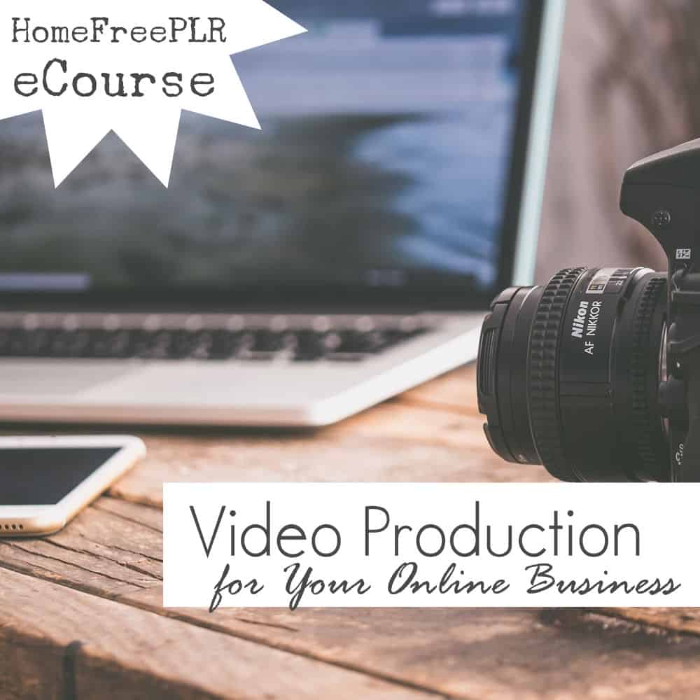 video production PLR