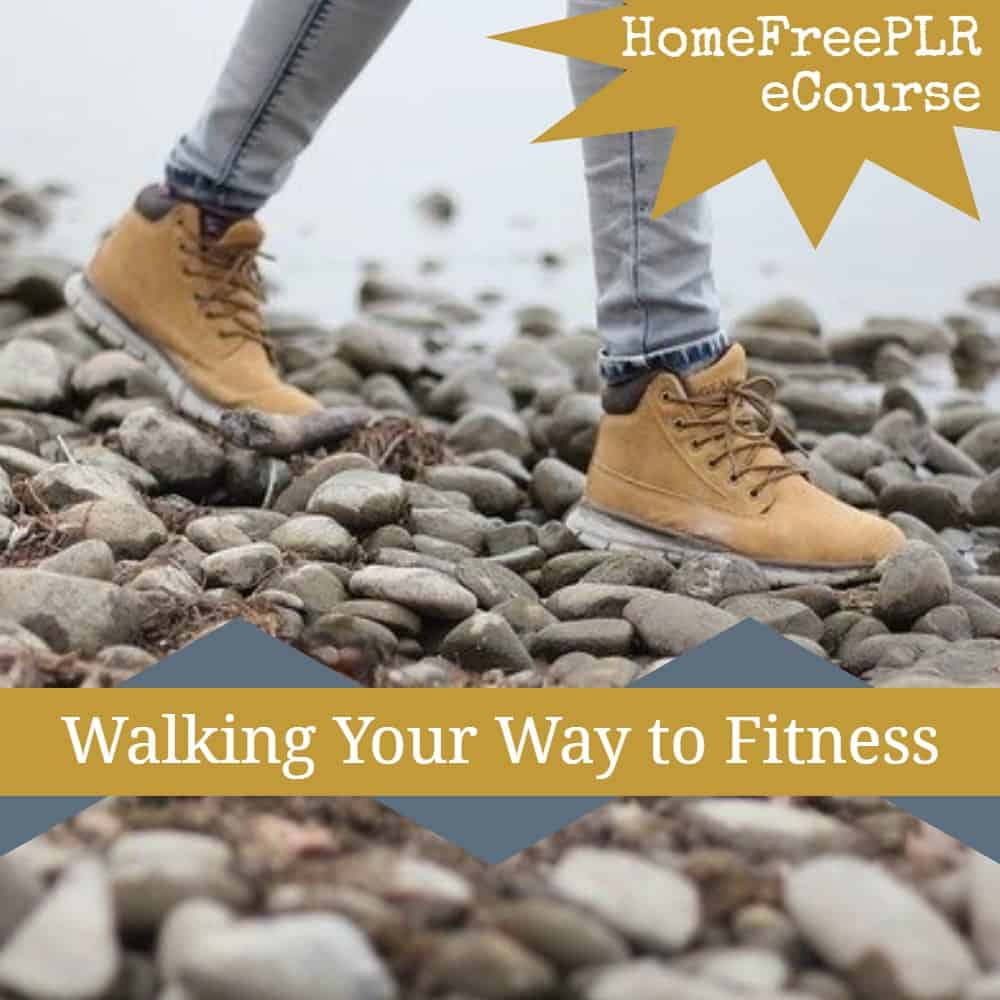 walking for fitness plr